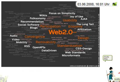 screenshot web20 cloud by kosmar, shot by weblin Publisher
